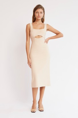 Finders Keepers LAILA DRESS Oyster