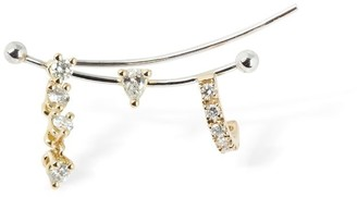 Delfina Delettrez TWO-IN-ONE DIAMOND MONO EAR JACKET