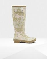 Hunter Women's Original Tall Flecktarn Camo Rain Boots