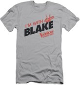 The Voice Reality TV Show Singing Competition I'm With Blake Adult Slim T-Shirt