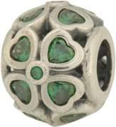 Pandora 791496czn Green Lucky Clover Charm