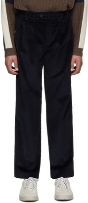 Gr Uniforma GR-Uniforma Navy Corduroy Trousers