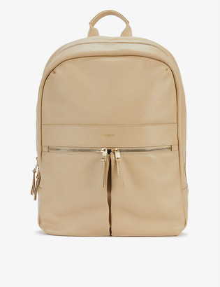 Knomo Beauchamp faux-leather backpack