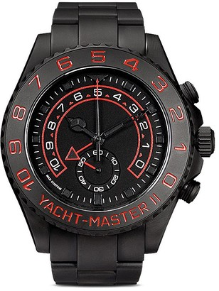 Mad Paris customised Rolex Yachtmaster II Noir 44mm