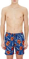Sundek Men's Hibiscus-Print Swim Trunks
