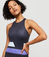 Lou & Grey Form Stripeblock Streeeetch Racerback