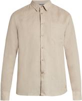 Vilebrequin Caroubis button-cuff linen shirt