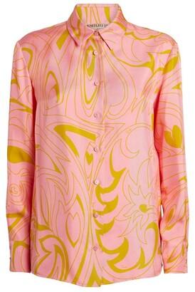 Emilio Pucci Silk Patterned Shirt