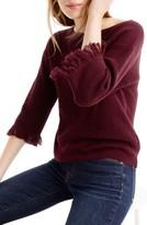 J.Crew Women's Fringe Crewneck Sweater