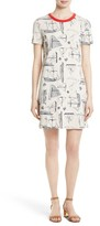 Tory Burch Women's Adrift Print T-Shirt Dress