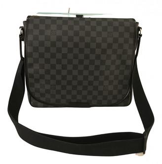 Louis Vuitton Daniel MM Satchel Grey Cloth Bags