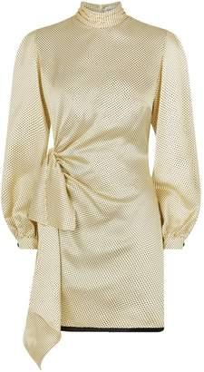 Raquel Diniz Barbara Polka Dot Mini Dress