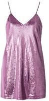 Motel **Valley Sequin Mini Slip Dress