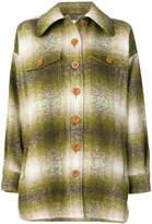 Chloé blurred stripe coat