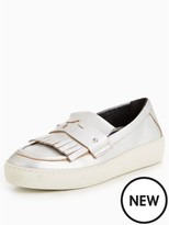 Tommy Hilfiger Suzie Silver Thick Sole Loafer