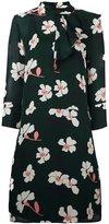 Marni Distal print ruffle dress - women - Silk - 40