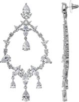 JLO by Jennifer Lopez Red Carpet Ready Cubic Zirconia Chandelier Earrings