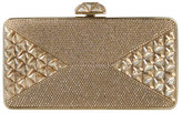 Judith Leiber Couture Diamond Crystal Box Clutch Bag, Champagne