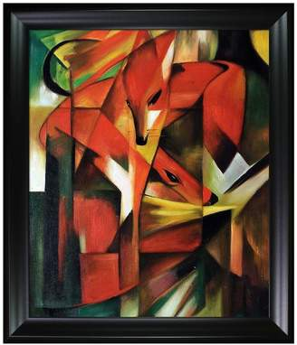 The Fox - Framed Oil Reproduction of an Original Painting by Franz Marc