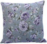 One Kings Lane Vintage Printed Floral Linen Pillow