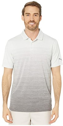 Puma Ombre Polo (Quiet Shade Heather) Men's Clothing