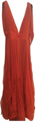 Maria Lucia Hohan Red Viscose Dresses