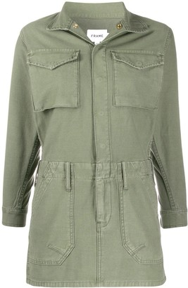 Frame Fitted Cargo Dress