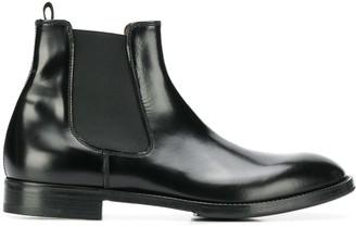 Premiata varnished Chelsea boots