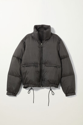 Weekday Hedda Puffer Jacket - Black