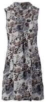 Dorothy Perkins Womens Izabel London Grey Floral Print Roll Neck Dress, Grey