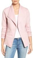 Caslon Women's Cotton Knit Open Front Blazer