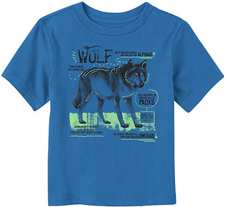 Fifth Sun Boys' Tee Shirts ROYAL - Royal Wolf Pack Facts Crewneck Tee - Toddler & Boys