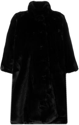 Balenciaga Pulled opera coat