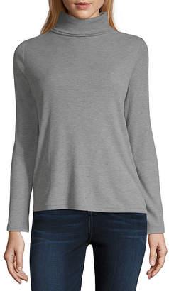 A.N.A Womens Long Sleeve Turtleneck - Tall