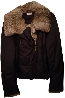 Max & Co. Black Rabbit Coat for Women