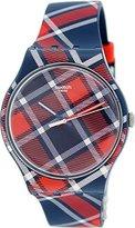 Swatch Unisex SUON109 Originals Analog Display Swiss Quartz Two Tone Watch