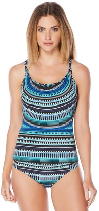 Jag Women's Tribal Essence Multi-Strap Tankini Top
