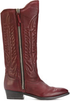 Golden Goose Deluxe Brand pointed-toe cowboy boots - women - Leather - 36