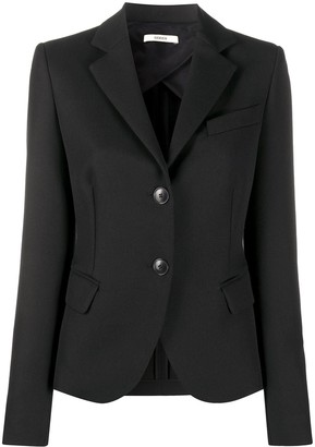 Odeeh Single Breasted Pique Blazer