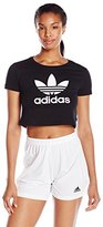 adidas Women's Slim Crop Tee