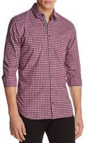 BOSS ORANGE Cattitude Plaid Long Sleeve Button-Down Shirt