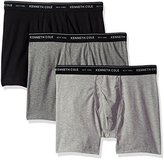 Kenneth Cole New York Men's Boxer Brief Set Basic 3 Pack