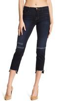 J Brand Mid Rise Straight Jeans