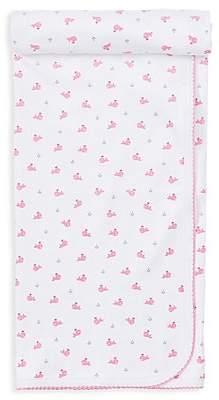 Kissy Kissy Baby Girl's Whale-Print Blanket