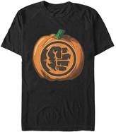 Fifth Sun Men's Tee Shirts BLACK - Hulk Black Pumpkin Tee - Men