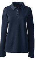 Classic Women's Tall Pique Polo Shirt-White