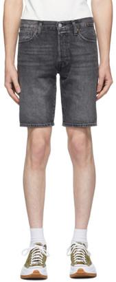 Levi's Levis Black Denim 501 Shorts