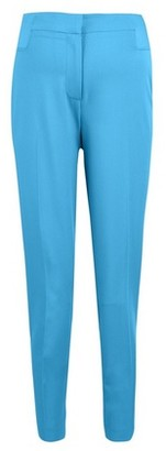Dorothy Perkins Womens Dp Maternity Turquoise Underbump Ankle Grazer Trousers