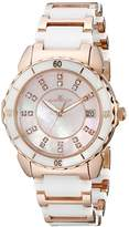 Oceanaut Women's OC2413 Charm Analog Display Swiss Quartz Two Tone Watch