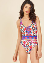 Nanette by Nanette Lepore Summertime Stunner One-Piece Swimsuit in S